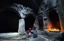 W średniowiecznym klasztorze Gegard
