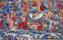 Malowidła naścienne w Monastyrze Mołdawica