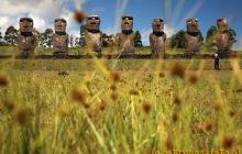 Moai - tajenicze posągi na Wyspie Wielkanocnej