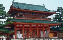 Shintoistyczna świątynia w Kioto
