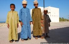 Omańczycy w tradycyjnych strojach