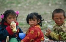 Tybetańskie dzieci
