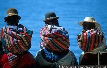 Nad jeziorem Titicaca