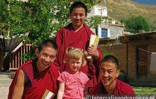 W klasztorze buddyjskim w Tybecie