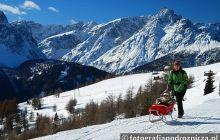 Na zimowym szlaku w Dolomitach