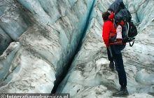 Trekking po lodowcu w Alpach Nowozelandzkich