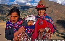 Tradycyjnie ubrane Peruwianki
