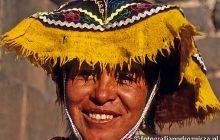 barwne peruwiańskie stroje