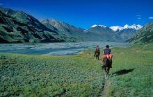 Na szlaku w górach Tien Szan